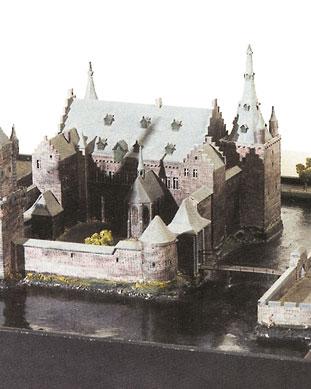 Het voormalige kasteel aan de Biest in Weert.